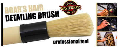 Superior Boar's Hair Detailing Brush