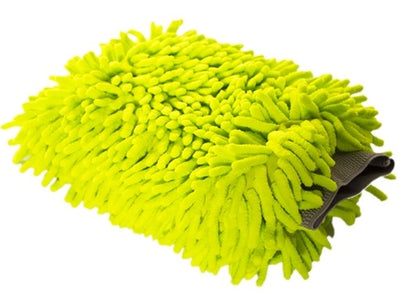 Soft Chenille Wash Mitt