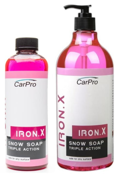 IronX Snow Soap