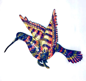 Metal Wall Hanging Hummingbird