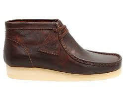 Clark's WALLABEE BOOT Men's - DARK BROWN LEA - Moesports