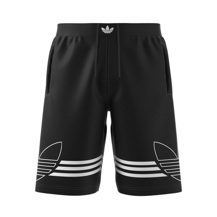 Adidas Original OUTLINE SHORT Men's - BLACK/NOIR - Moesports