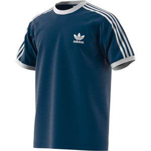 Adidas Original 3-STRIPES TEE Men's - LEGMAR/BLMALE - Moesports