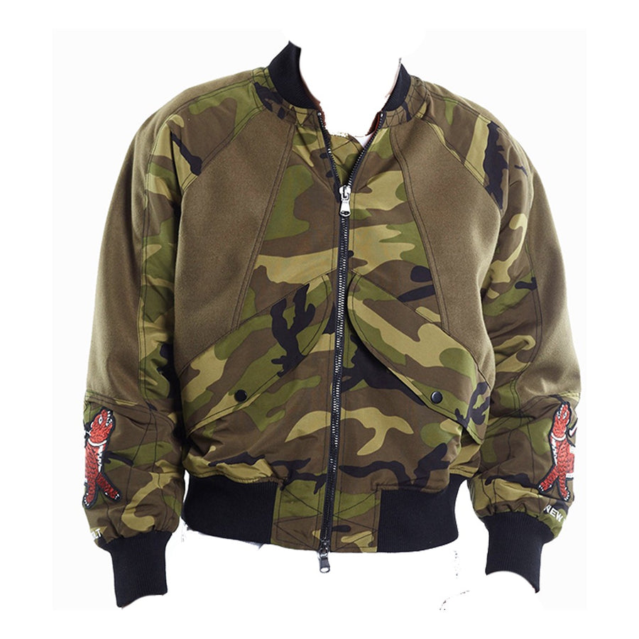 Cult of Indviduality BATO BOMBER JACKET Men's - CAMO - Moesports