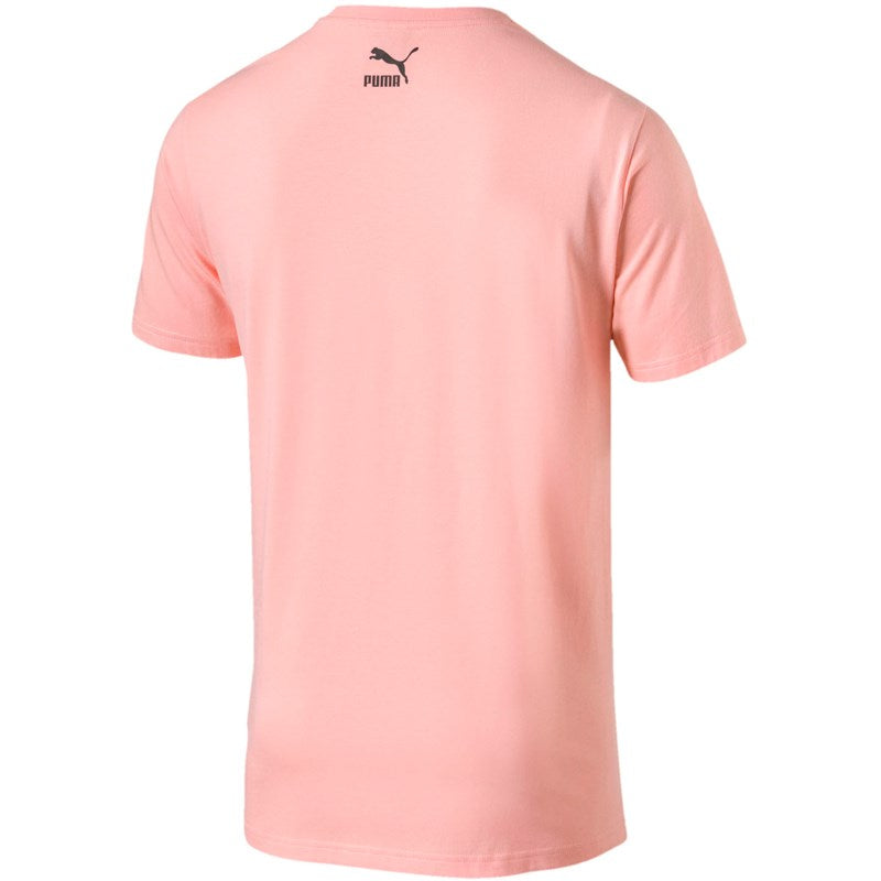 Puma ICONIC GRAPHIC COMICS TEE Men's - PINK/WHITE - Moesports