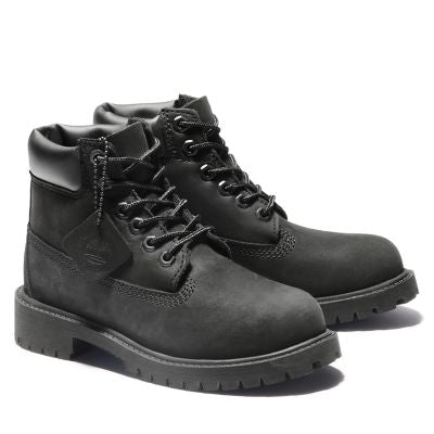 Timberland 6IN PREM Youth - BLACK NUBUCK