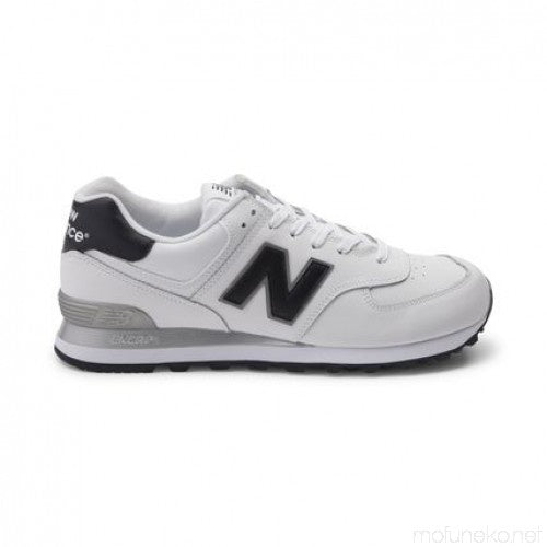 New Balance 574 Classics Men's - WHITE/BLACK/GRAY - Moesports