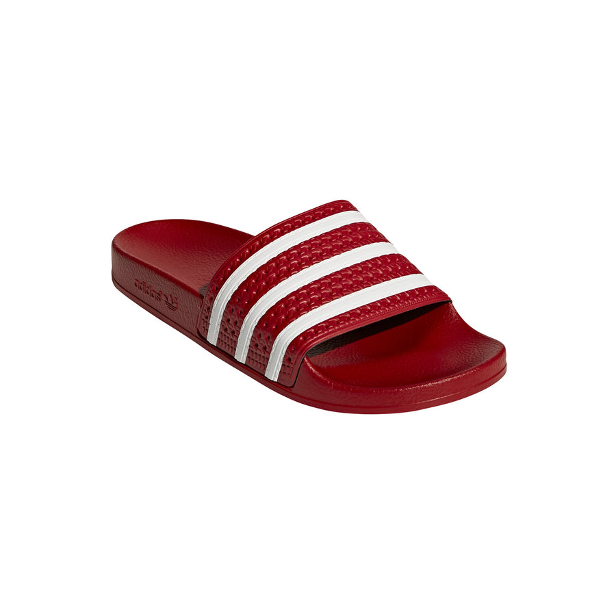 Adidas Original Adilette - RED/WHITE - Moesports