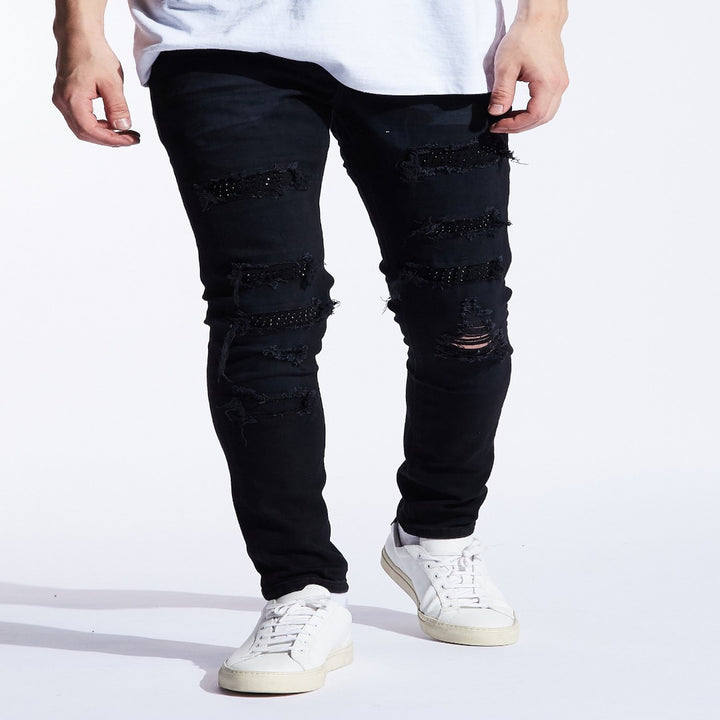 Embellish Jeans WALTON Men's - BLACK