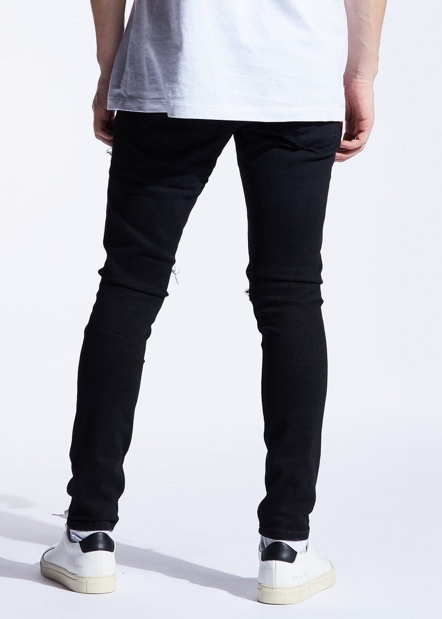 Embellish Jeans WALTON Men's - BLACK - Moesports