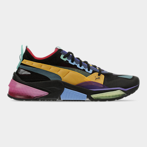 PUMA Men's LQDCELL Optic Sheer- BLACK/MULTI