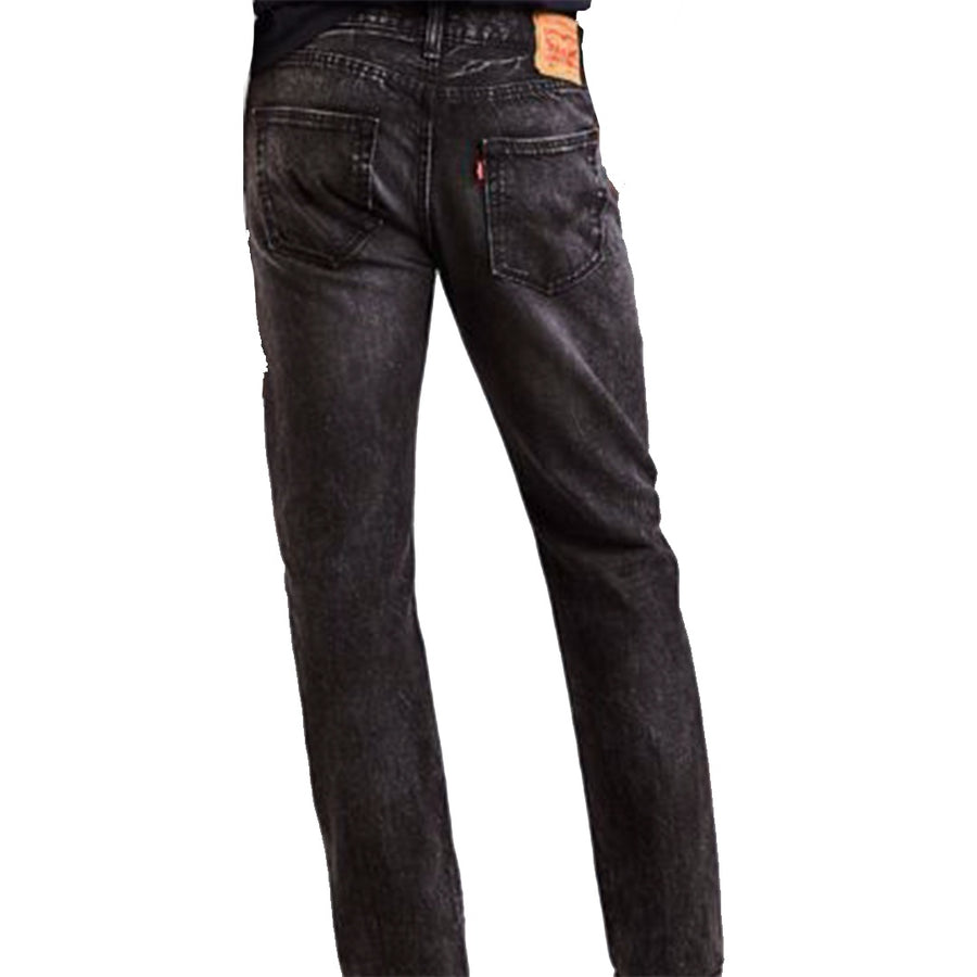Levis Strauss & Co - 501 ORIGINAL RIPPED STRAIGHT LEG Men's - TROPICAL BLACK - Moesports
