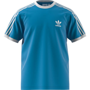 Adidas Original 3-STRIPES TEE Men's - SHOCYA/CYACHO - Moesports