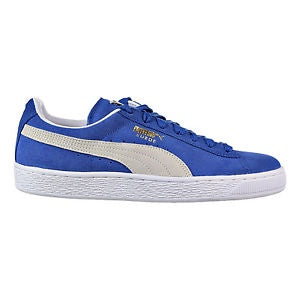 Puma SUEDE CLASSIC+ Men's - OLYMPIAN BLUE-WHITE - Moesports