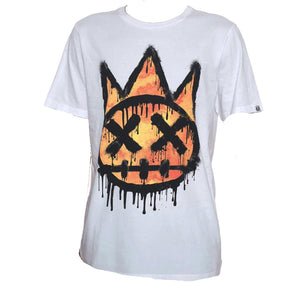 Cult of Individuality KRYLON SHIMUCHAN CREW NECK T-SHIRT Men's - WHITE