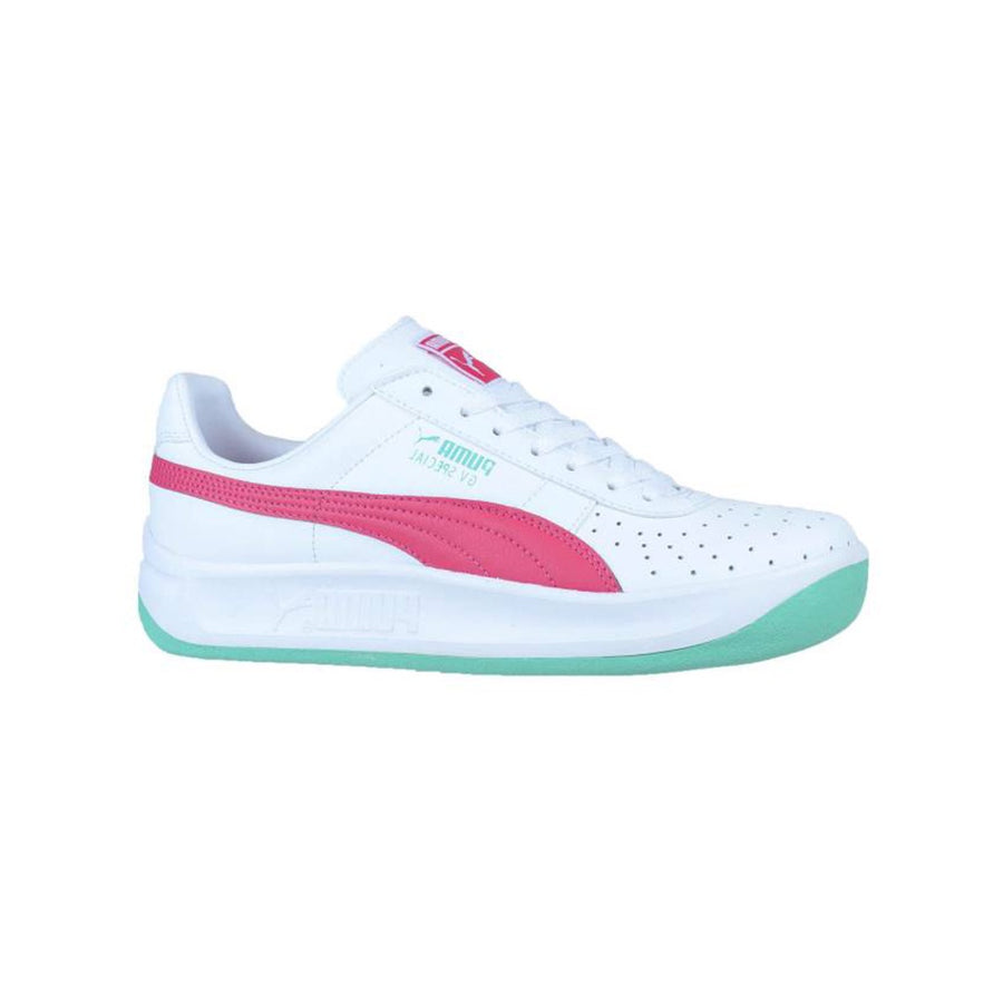 Puma - GV SPECIAL Junior's - WHITE-PURPLE-ELECTRIC GREEN - Moesports