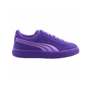 Puma - SUEDE CLASSIC Junior's - PURPLE-BLUE-TEAM-GOLD - Moesports