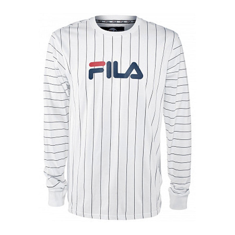 Fila MARIO LONG SLEEVE TEE Men's - WHITE - Moesports