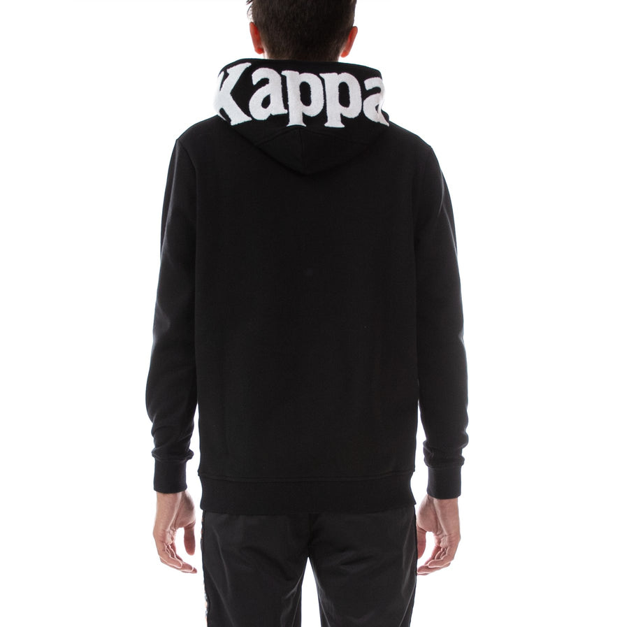 Kappa AUTHENTIC DAVE REGULAR FIT Men's - BLACK/WHITE - Moesports