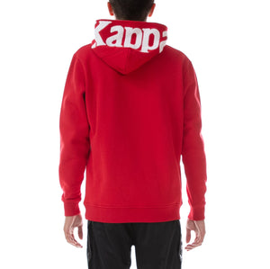 Kappa AUTHENTIC DAVE REGULAR FIT Men's - RED/WHITE - Moesports