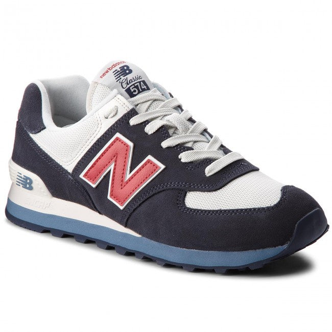 New Balance 574 Classics Men's - NAVY BLUE/RED/BABY BLUE/CREAM - Moesports