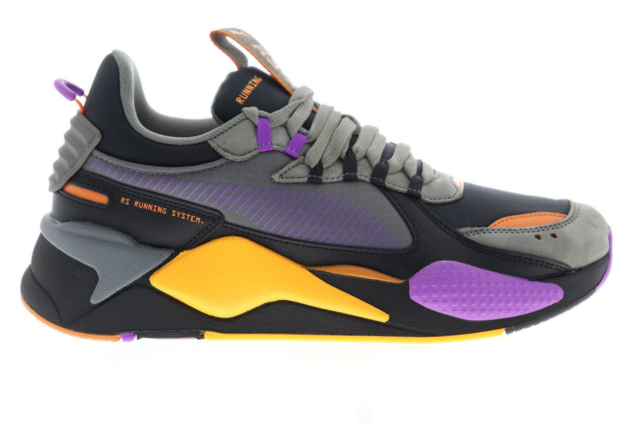 Puma RS-X O.h. Men's - BLACK-PUR GLIMMER-STEEL GRAY - Moesports