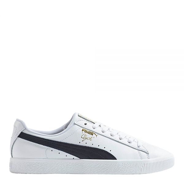 Puma CLYDE CORE L FOIL Men's - WHITE-NEW NAVY-TEAM GOLD - Moesports