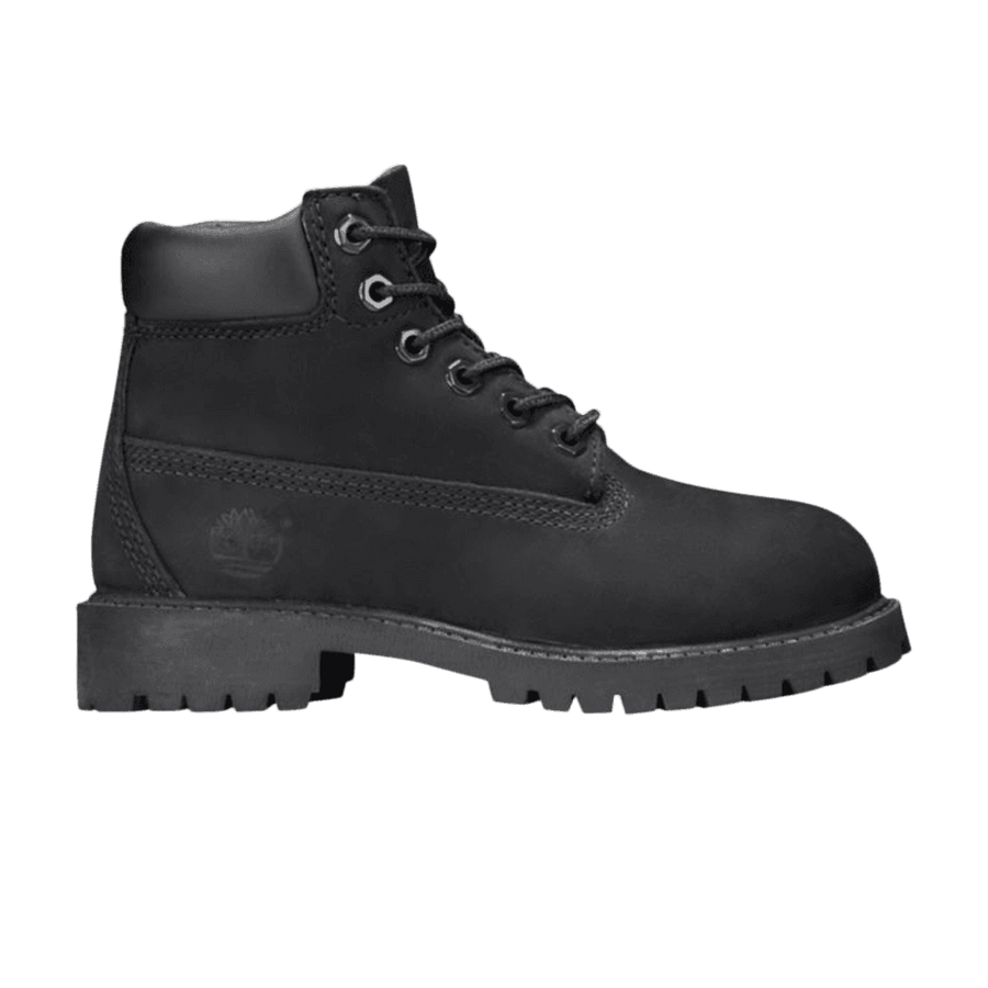 Timberland 6IN PREM Junior's - BLACK NUBUCK - Moesports