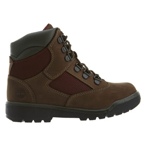 Timberland 6 IN L/F FLD BT Youth's - NB DK BRN - Moesports