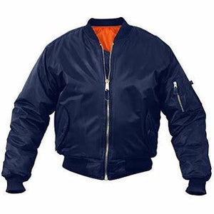 Rothco MA-1 FLIGHT JACKET Men's - NAVY - Moesports