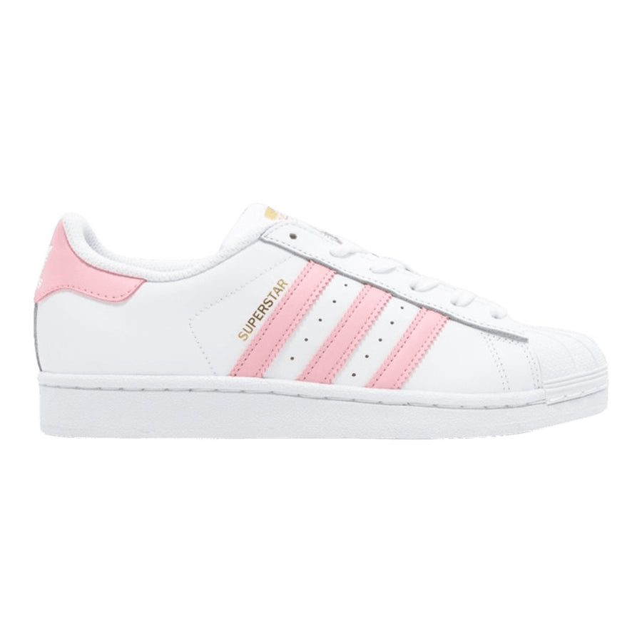 Adidas Original SUPERSTAR FOUNDATION Junior's - FTWWHT/LTPINK/GOLDMT/FTWBLA/ROSELEG/ORMETA - Moesports