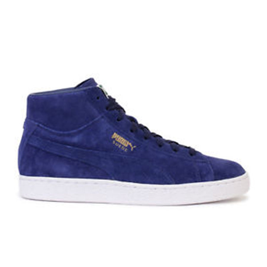 Puma SUEDE CLASSIC MID Men's - BLUE DEPTHS-BLUE DEPTHS - Moesports