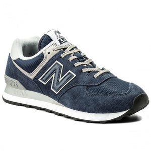 New Balance Classics 574 Men's - NAVY/WHITE - Moesports