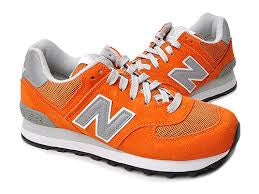 new styles ba4ce 7b283 New Balance 574 Classics Men's - ORANGE/GRAY/WHITE