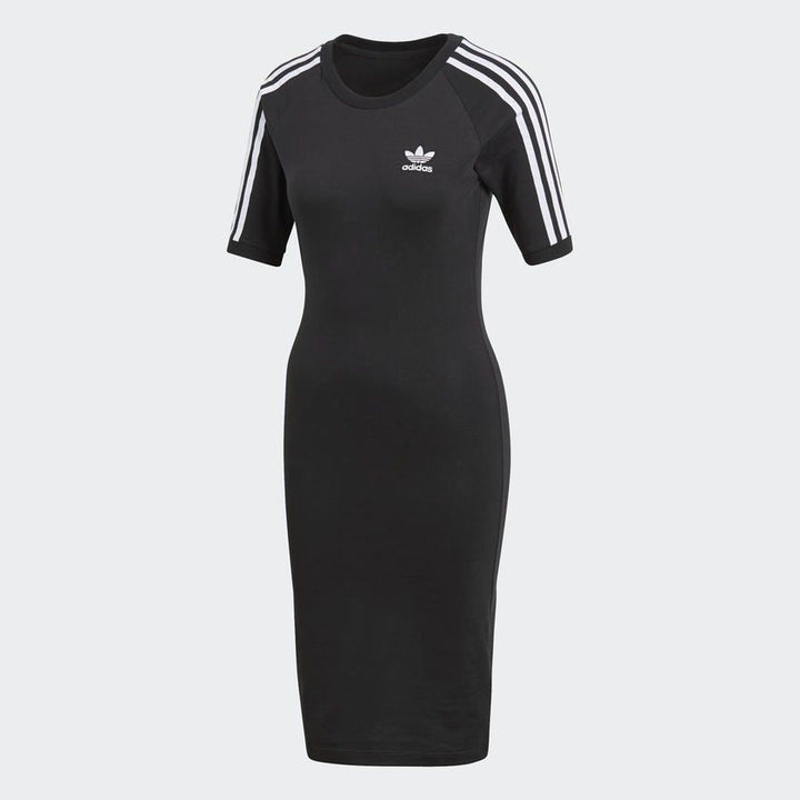 Adidas Originals 3 STRIPES DRESS Women's - BLACK NOIR - Moesports