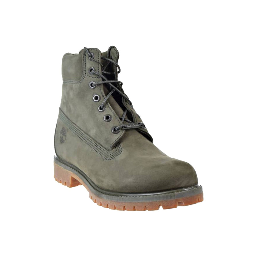 Timberland PREMIUM 6 IN WATERPROOF BOOT Men's - DARK GREEN NUBUCK - Moesports