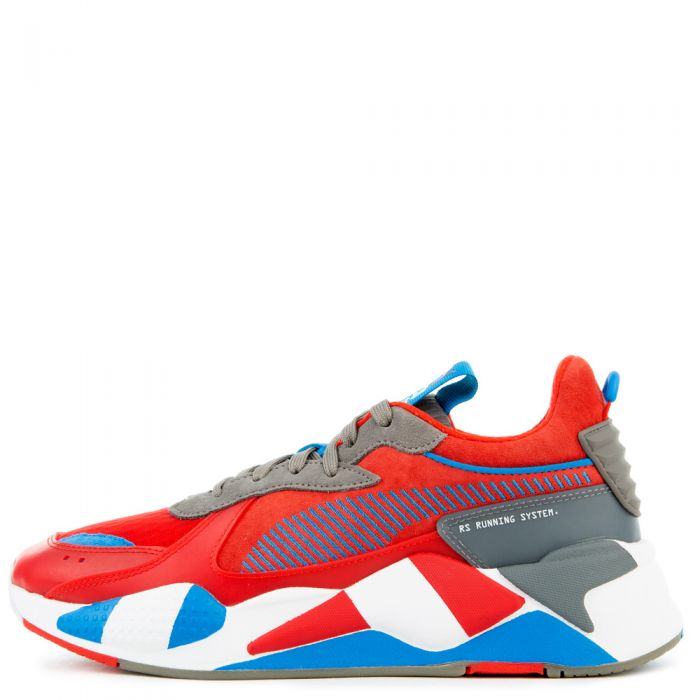 Puma RS-X RETRO Men's - RED-STEEL/GRAY-INDIGO - Moesports