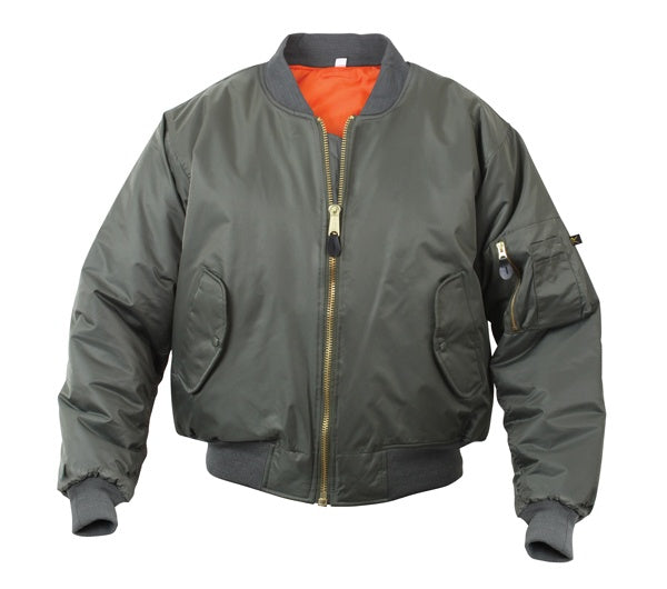 Rothco MA-1 FLIGHT JACKET Men's - SAGE GREEN - Moesports