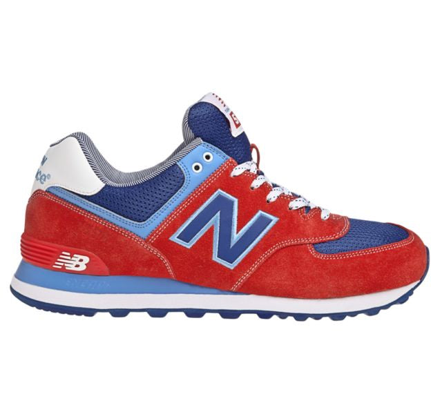 New Balance 574 Classics Men's - RED/ROYAL BLUE/WHITE - Moesports