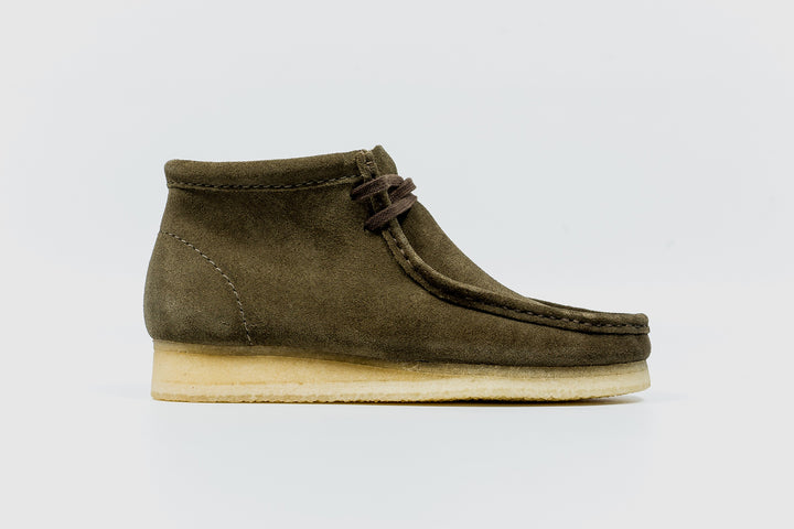Clark's WALLABEE BOOT Men's - OLIVE SUEDE - Moesports