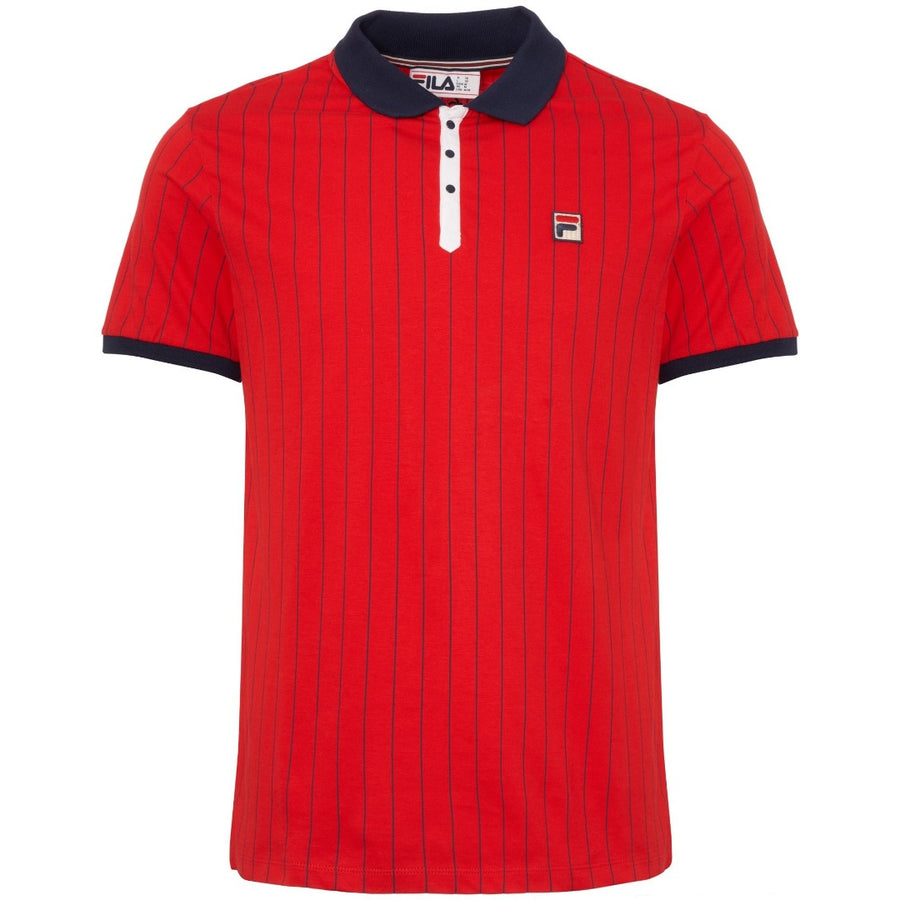 Fila BB1 POLO SHIRT Men's - CHINESRED - Moesports