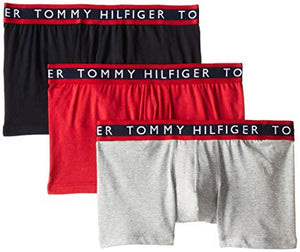 Tommy Hilfiger 3 PACK BOXERS BRIEF Men's - RED/NAVY/GREY - Moesports