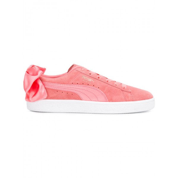 Puma SUEDE BOW Women's - SHELL PINK-SHELL PINK - Moesports