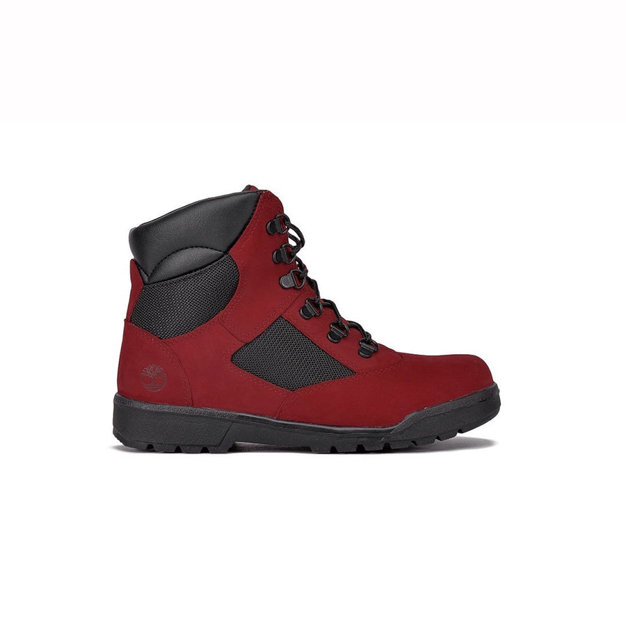 Timberland 6 IN L/F FLD BT Youth's - RED/BLACK - Moesports