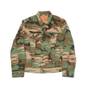 Levis Strauss & Co JACKET Men's - CAMO GREEN