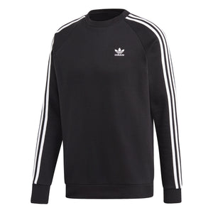 Adidas Originals - 3-STRIPES CREW SWEATSUIT Men's - BLACK NOIR - Moesports