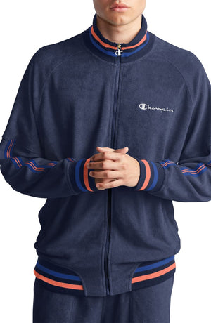 Champion TERRY WARM UP JACKET Men's - IMPERIAL IND - Moesports