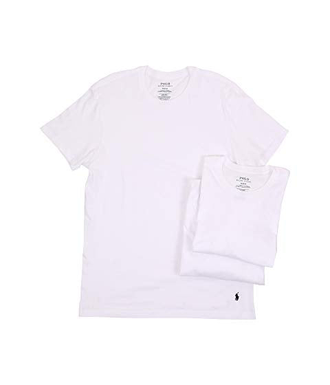 Polo Ralph Lauren - CREWNECK CLASSIC FIT T-Shirt 3 PACK Men's - WHITE