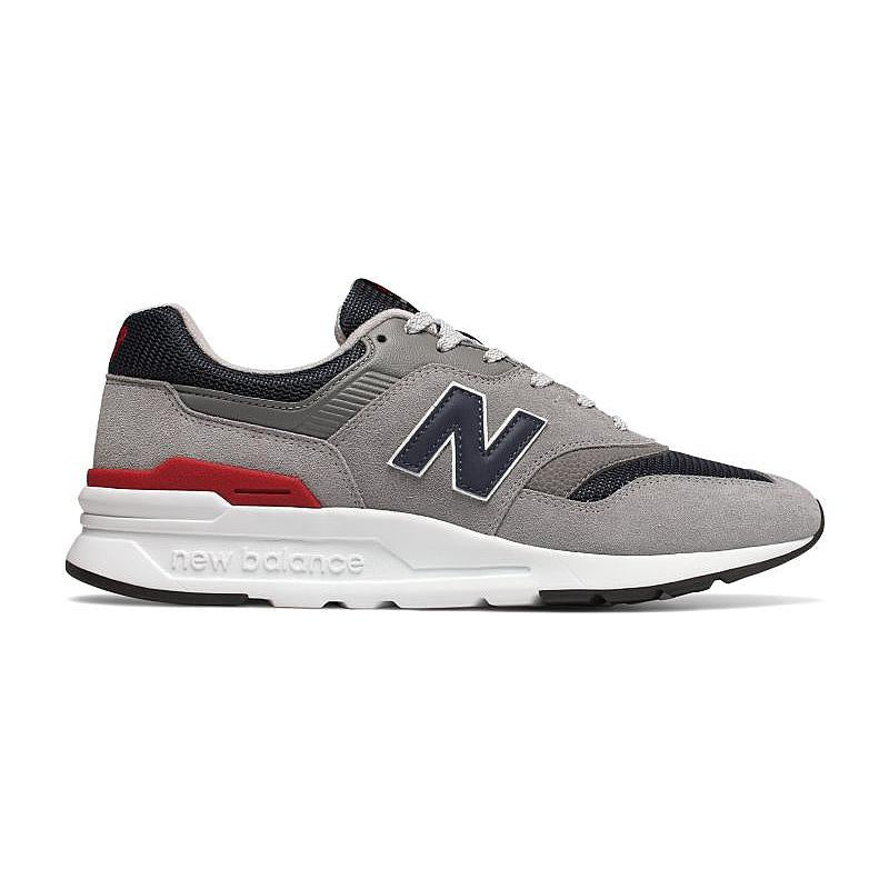 New Balance Classics 997's Men's - GRAY/NVY/RED/WHITE - Moesports