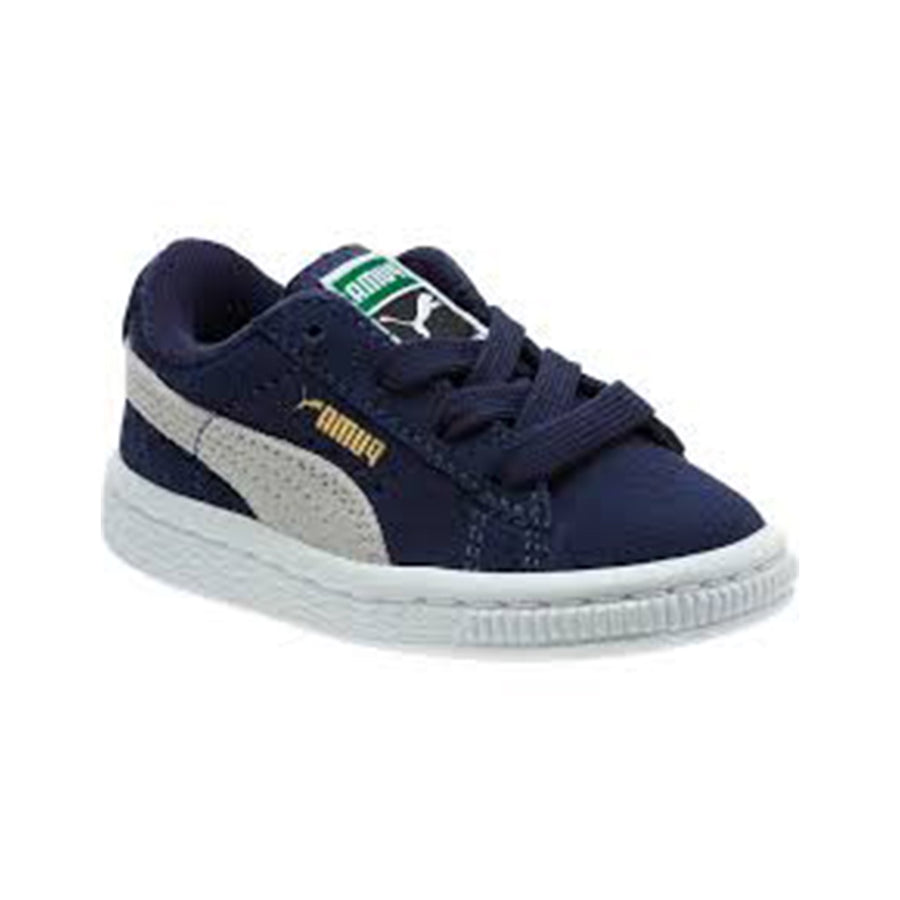 Puma - SUEDE Kid's - PEACOAT-TEAM GOLD - Moesports